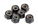 M3 Nylon Locknut (6Pcs)