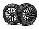 WHEEL AND TIRE SET REAR (2 PCS) (XB)