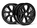 BLACK TURBINE WHEELS (PR)