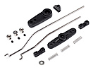 Servo horn and Throttle Linkage Set (Blackout MT)