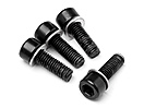 CAP HEAD SCREW M5X15MM 4 PCS ME - 243 (BLACKOUT)