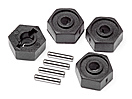 Wheel Hex Adaptors w/Pins 2x10 4pcs (Scout RC)