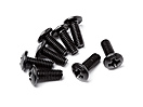 Button Head Screw M3x8 (8pcs)