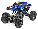 PAINTED SCOUT RC BODYSHELL BLUE W/DECALS