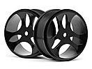 Black Wheels 2 Pcs (Vader XB)