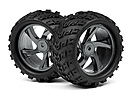 1/18 Monster Truck Wheel and Tyre Assembly (Ion MT)