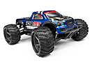 MONSTER TRUCK PAINTED BODY BLUE WITH DECALS ION MT