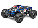 CLEAR MONSTER TRUCK BODY WITH DECALS (ION MT)