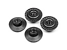 FLANGED LOCK NUT M5X8MM (4PCS)